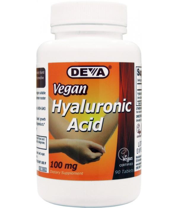 Hyaluronic acid vegan source