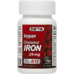 Vegan Chelated Iron 29 mg with added B12 - 100% vegetarian