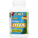 Vegetarian / Vegan Omega-3 DHA from Algae, Registered Vegan, Delayed Release