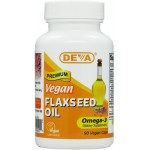 Vegetarian / Vegan Flaxseed Oil, rich in Omega-3 EFA, Cold pressed, unrefined flax oil