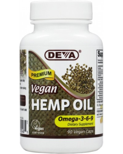 Vegan / Vegetarian Hemp Oil, Cold-pressed, Unrefined Hemp Seed Oil, 100% vegan