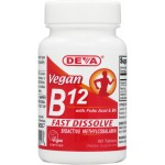 Vegetarian / Vegan Fast Dissolve Lozenges B-12 with B-6 & Folic Acid - Methylcobalamin