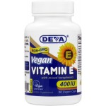 Vegan / Vegetarian , Plant Source Vitamin E (400 IU) with Mixed Tocopherols - Soy-Free, Non-GMO
