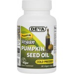 Vegan / Vegetarian Pumpkin Seed Oil, Unrefined, Cold pressed. (by Deva Nutrition)