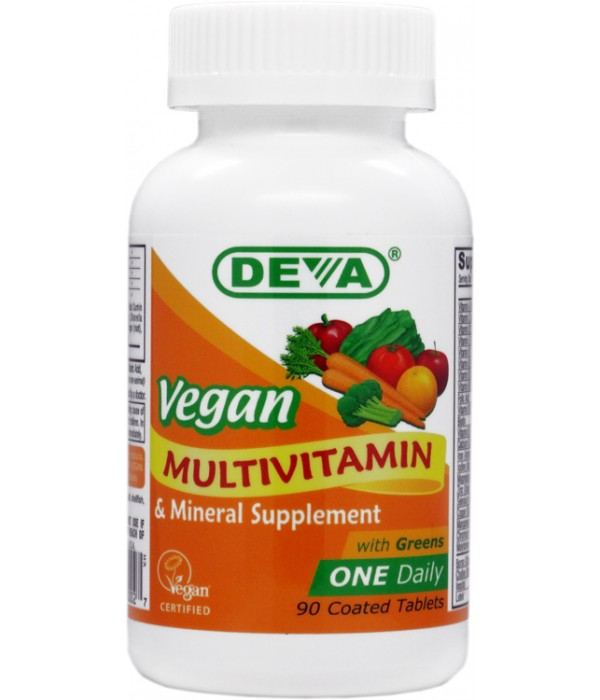 Vegan Multivitamin And Mineral Supplement One Daily