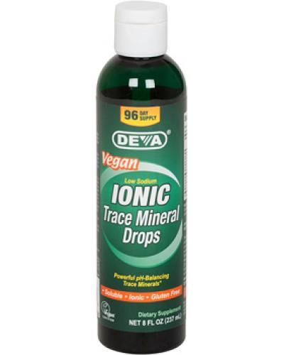 Vegan Trace Mineral Drops - Liquid - Ionic - Soluble - from Utah's inland Sea